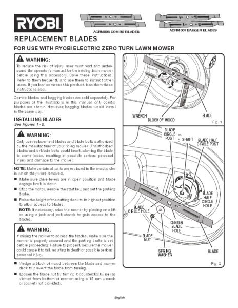 ACRM006_007_000997259_258_770_Blades_trilingual_02.pdf - Manual