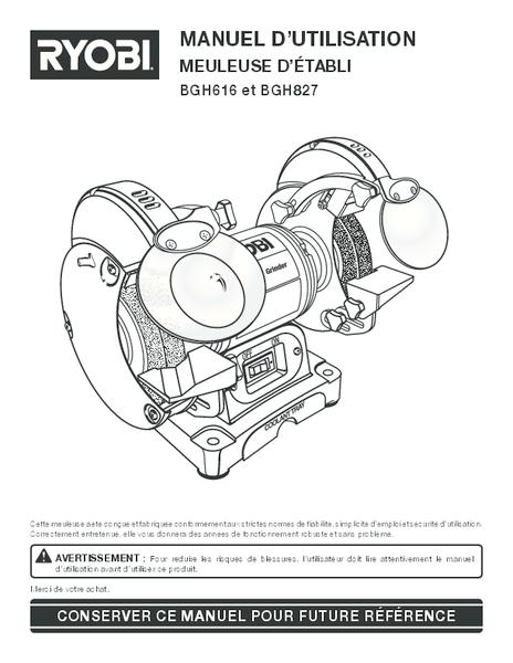 BGH616-827_626_fr.pdf -  Manual