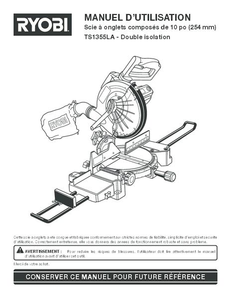 TS1355LA_130_fr.pdf -  Manual