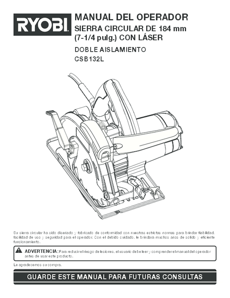 CSB132L_113_sp.pdf -  Manual