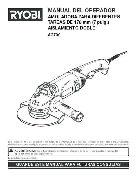 AG700_295_sp.pdf -  Manual