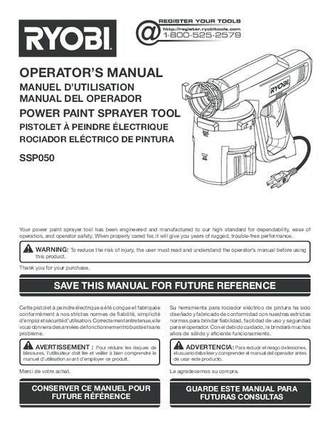SSP050_995_trilingual.pdf -  Manual