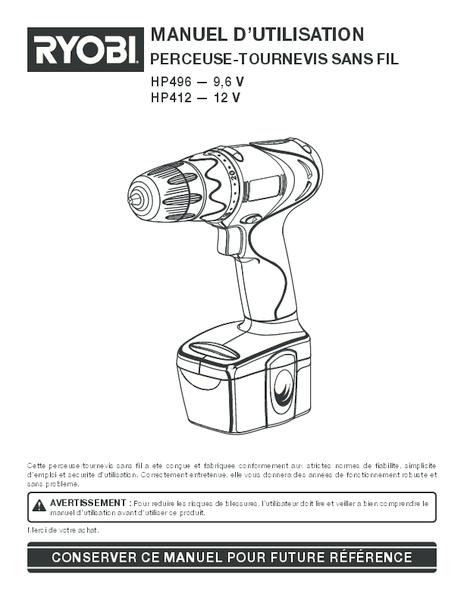 Hp496 hp412 501 fr