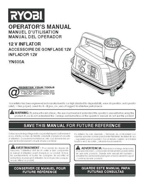 YN600A_046_trilingual.pdf -  Manual
