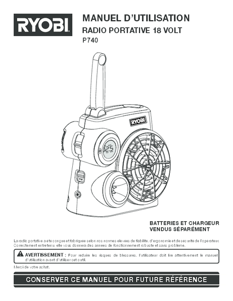 P740_981_fr.pdf -  Manual
