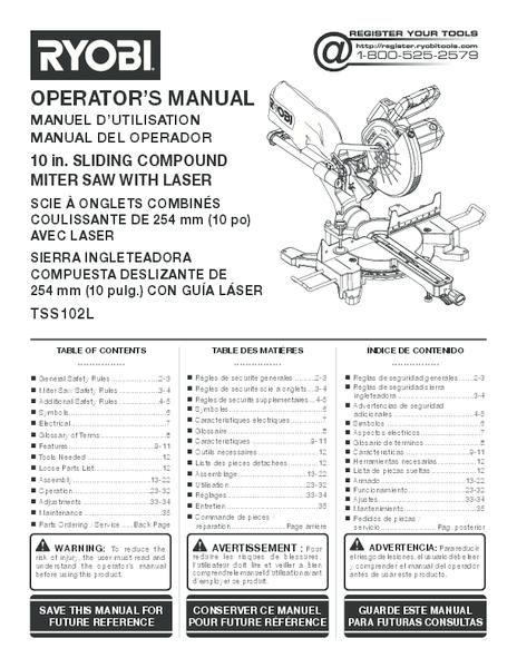 TSS102L_042_trilingual.pdf -  Manual