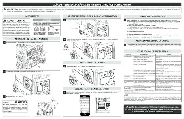 RYi2300BT_BTA_090930309_330_964_QRG_sp_03.pdf - Manual